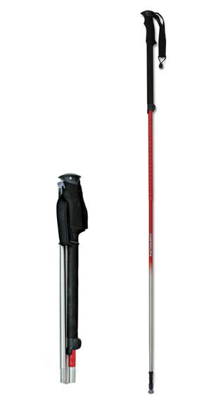 Gipron Peuteray/Freeride Flicklock Pole Red